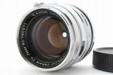 【MINT】 Canon 50mm f/1.8 Lens for Leica Screw Mount L39 LTM from Japan 914
