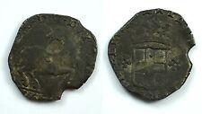 SAVOIA - CARLO EMANUELE I 1580-1630 -MI/ CAVALLOTTO IV TIPO 1618?  RARA