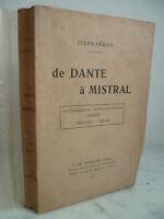 Veran Di Dante Con Mistral 1922 - E.Di Boccard Editore