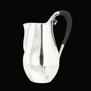 Georg Jensen. Sterling Silver 'Cosmos' Pitcher #45A - Johan Rohde - 1925-32
