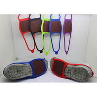 Anti Slip Shoe Boot Grips Ice Cleats Spikes Snow Gripper Non Slip Crampons LF