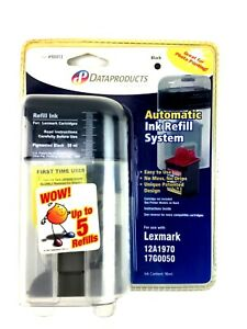 Dataproducts Premium Automatic Ink Refill System Black For Lexmark Brother More