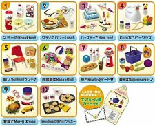 Re-ment American Kitchen breakfast baby supplies turkey cookies birthday cake
