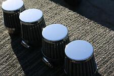 HONDA CB750 CB 750 39mm Pod air filters Universal 38mm 39mm 40mm filter pods x4