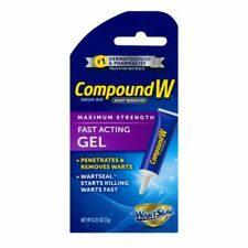 New listing Compound W Wart Remover Maximum Strength Fast Acting Gel 0.25 Oz