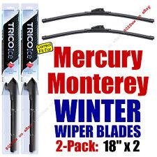 WINTER Wipers 2-Pack Premium Grade - fit 1971-1974 Mercury Monterey - 35180x2