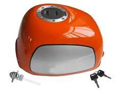 Gorilla  Tank orange  neue Ausführung, komplett mit großen  Tankdeckel