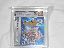 NEW Super Robot Taisen Original Generation 2 GameBoy Advance VGA 85 NM+/MT GOLD