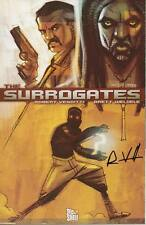 signed 1st print SURROGATES #1 COMIC BOOK movie ROB VENDITTI 2005 TOP SHELF