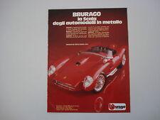 advertising Pubblicità 1981 FERRARI 250 TESTA ROSSA BBURAGO