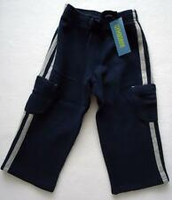 Gymboree Boys 2T Pants Knit Firehouse Hounds Navy Blue Cargo NWT