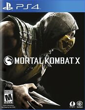 Mortal Kombat X - PlayStation 4 Brand New PS4 Games Arcade Fighting Video Game