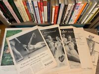 1950'S 60'S POST / LIFE MAGAZINE ADS 8 PAGES WOMENS BRAS UNDER GARMENTS ARTWORK