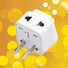 Universal to United States Canada Japan China 2 / 3 Pin Splitter Plug Adapter