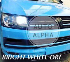 VW T5 T6 TRANSPORTER LED XENON ICE WHITE DAYTIME RUNNING LIGHT DRL BULBS 6000k