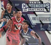 2016-17 Panini Contenders Draft Picks Basketball Hobby Box Factory Sealed!!