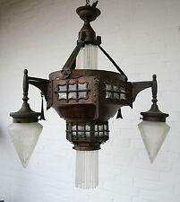 Jugendstil lámpara-Modernist-Designer lámpara-steampunk-al Capitán Nemo-única
