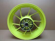 Yamaha MT-09 ABS 2017 15,848 miles rear yellow wheel (5102)