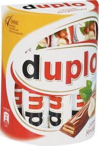 Ferrero Duplo, Riegel, Schokolade, 10er Packung