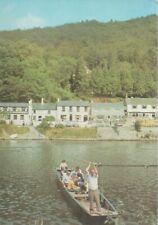 Symonds Yat East, Herefordshire, Ferry Crossing, 1977 Unused Postcard