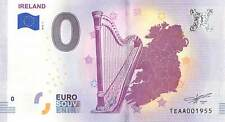 Commemorative 0 Euro Banknote Souvenir of the Irish Harp - ONLY 3 LEFT IN STOCK!