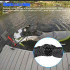 Black Marine Bungee Dock Line Boat Mooring Rope Anchor Cord Stretch Shock2