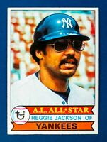 Reggie Jackson #21 (1979 Topps) Baseball Card, New York Yankees, HOF