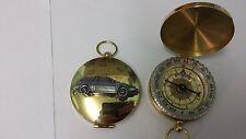 Volvo 480 ref288 pewter effect car emblem on a Golden Compass