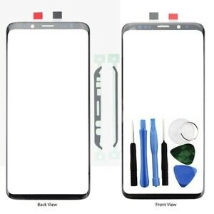 For Samsung Galaxy S9 Plus Front Outer Glass Screen Lens Repair Adhesive + Tools