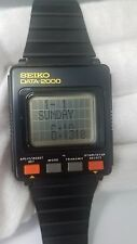 Vintage Seiko DATA-2000 UW01-0020 Rare Electronic Watchwatch Original Memo Watch