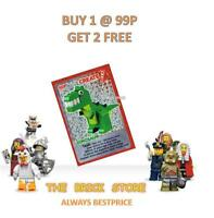 LEGO - #111 - DINOSAUR - CREATE THE WORLD TRADING CARD - BESTPRICE + GIFT - NEW