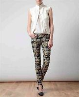 Guess Women's Elin Kling For Marciano Print Multicolor Skinny Jeans Size 28