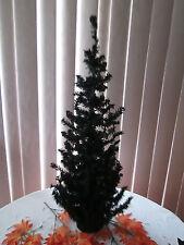 "24"" Black Canadian Pine Tree, 148 Tips, No-Lights, New"
