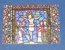 Kent - Canterbury Cathedral - The Crucifixion - Old Picture Postcard