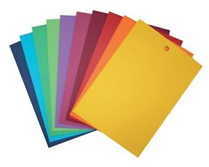 Colourful Gift Tags Plain Unstrung Wedding Favours Present Tagging 60mm x 40mm
