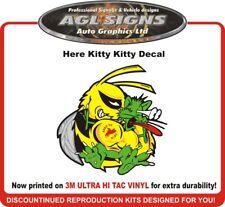 Here Kitty Kitty ski-doo Decal Original Design  Born to ride  rev mxz xp sticker