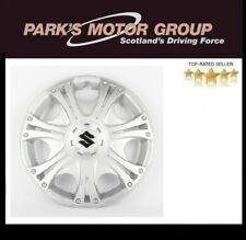 "NEW Genuine Suzuki ALTO 2000-2008 Wheel Trims HUB CAPS 13"" Silver SET OF 4 G28"