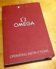 Istruzioni d'uso Omega SPEEDMASTER SEAMASTER CONSTELLATION 1/10 OEM