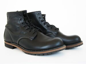 EXCELLENT Red Wing Heritage 9014 Beckman Black Featherstone Mens Boots 9 D 9D