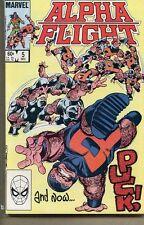 Alpha Flight 1983 series # 5 very fine comic book