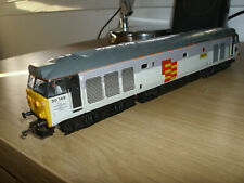 Boxed Lima OO gauge class 50 loco named Defiance No 50149 Railfreight grey