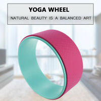 Yoga Wheel Circles Balance Support TPE fitness Gym Workout Back Training prop