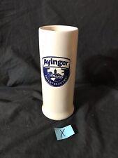 Ayinger Privatbrauerei German Brewery Stoneware Mug .5 Half Liter Stein Beer Bar
