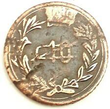 México coin Revolution 10 Centavos Emiliano Zapata Morelos 1915 Copper