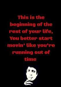 GERRY CINNAMON Music Lyrics Inspirational Poster Art Print Decor A4 SET OF 4