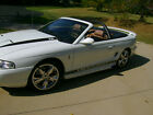 1996 Ford Mustang  1996 FORD MUSTANG COBRA SVT CONVERTIBLE 5 SPEED