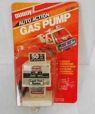 Cosecha 1978 Buddy L Texaco bomba de gasolina juguete \ no utilizado artículo sellada en la tarjeta