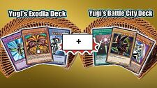 Yugioh Yugi's Exodia +Battle City English 1st Sealed New Original Real Decks