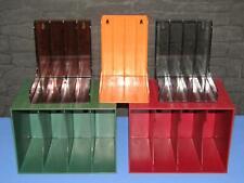 5 x Single-Box, Regal, Ständer, Winkel Plattenständer Schallplatten Aufbewahrung