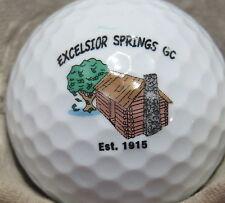 (1) EXCELSIOR SPRINGS EST 1915 GOLF COURSE LOGO GOLF BALL